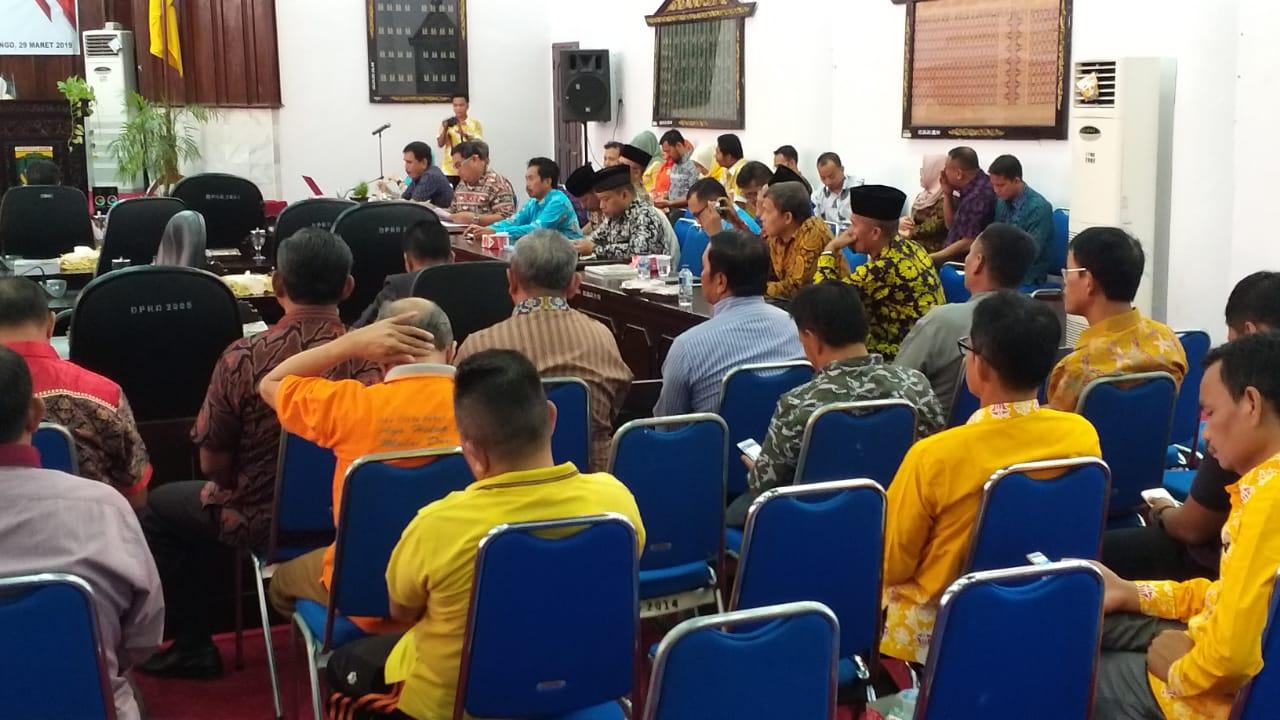 DPRD Bungo Sukses Gelar Paripurna Penyampaian LKPJ Bupati